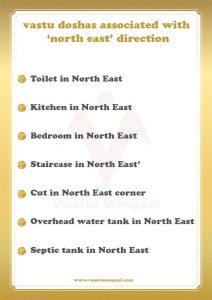 north east vastu