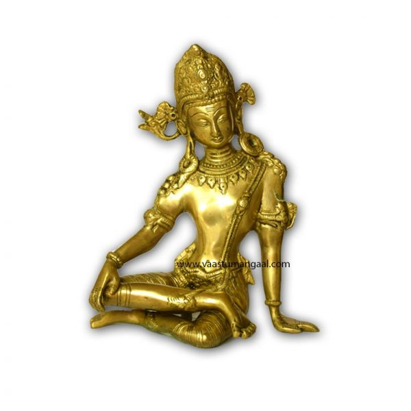 brass indra dev statue for vastu remedy